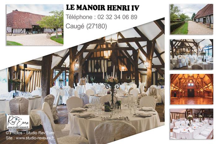 Le Manoir Henri IV | Caugé (27) | Domaine et salle de réception mariage avec hébergements | ©Rev'Eure Studio photographe