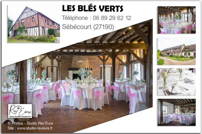 Les Blés Verts | Sébécourt (27190) – Conches-en-Ouche | Mariage – Salle de réception – Domaine | Gîte – Hébergements | ©Rev'Eure photographe